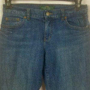 Ralph Lauren Jeans Co Women's 2 Boot Cut Dark Wash